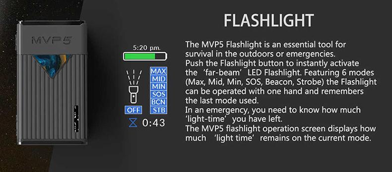 MVP5 Mod Flashlight