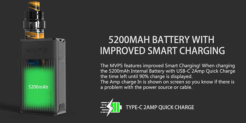 MVP5 Mod Battery