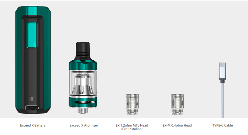 Joyetech EXCEED X Kit Package