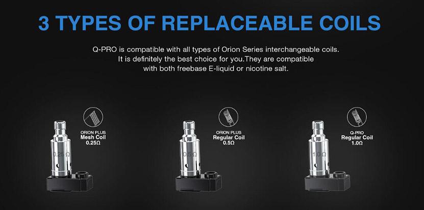 Orion Q-PRO Pod Kit Replaceable Coil
