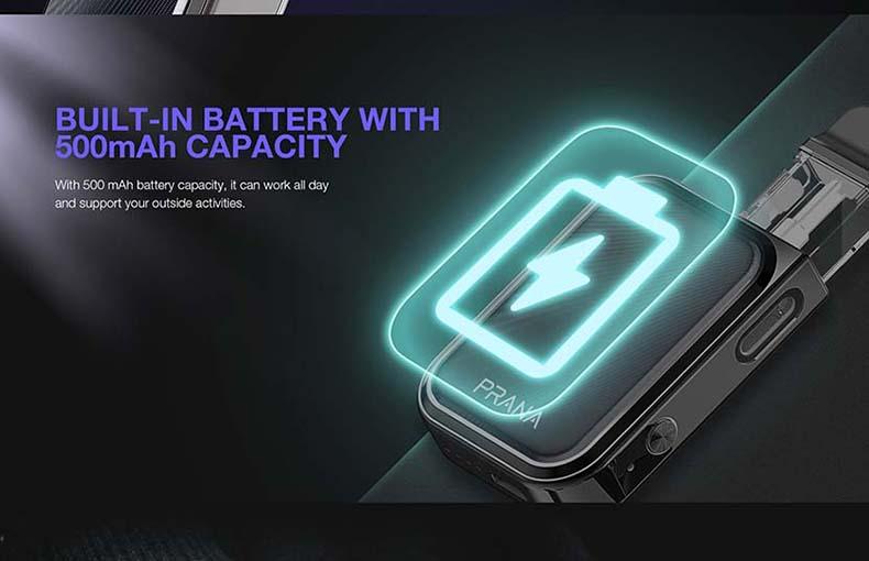 Lost Vape Prana Starter Kit Battery
