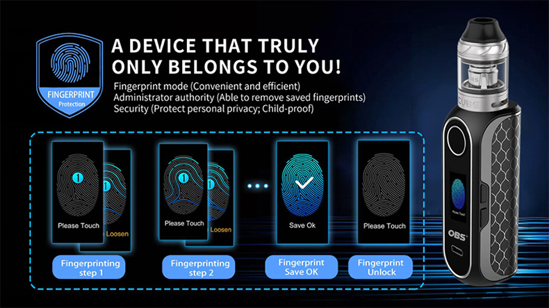 CUBE FP Kit Fingerprint Setting