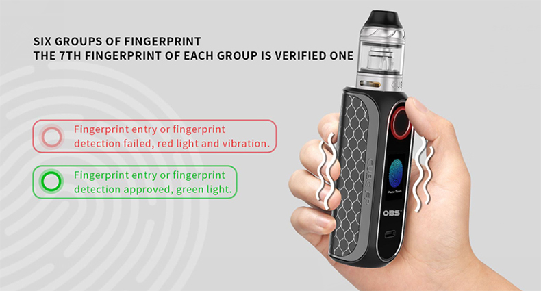CUBE FP Mod Kit Six groups of fingerprint