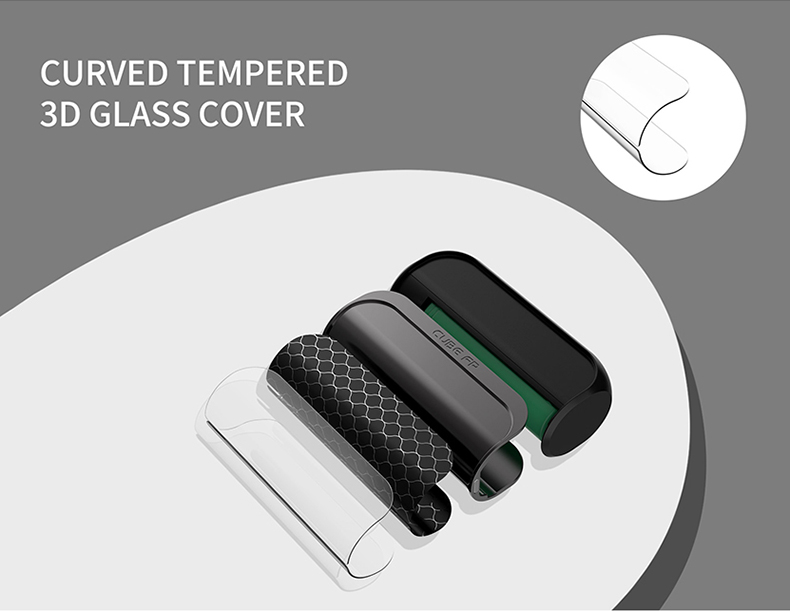 Cube FP Box Mod 3D Glass Cover
