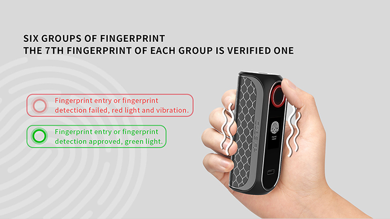 Cube FP Mod Fingerprint Indicator