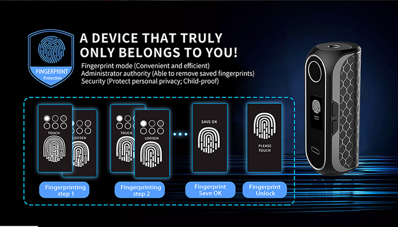 Cube FP Mod Fingerprint Set Up