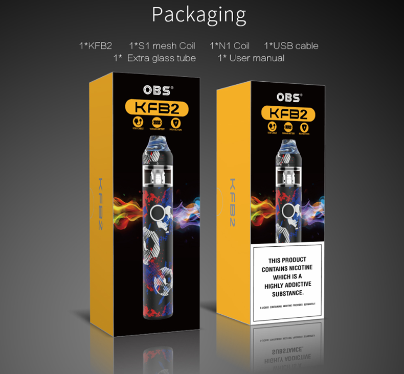 OBS KFB2 AIO Starter Kit Package