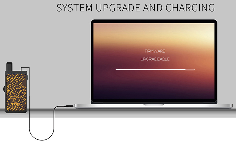 Land Pod Vape Kit Upgrade and Charging