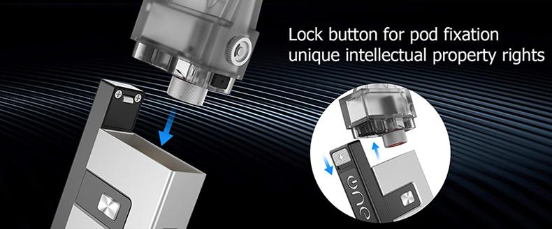 OneVape Golden Ratio Pod Starter Kit Lock Button