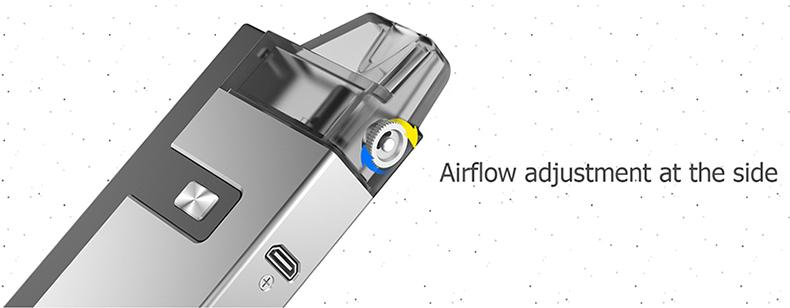 OneVape Golden Ratio Vape Pod Kit Airflow