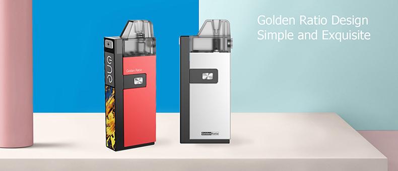 Onevape Golden Ratio Pod System Kit Design