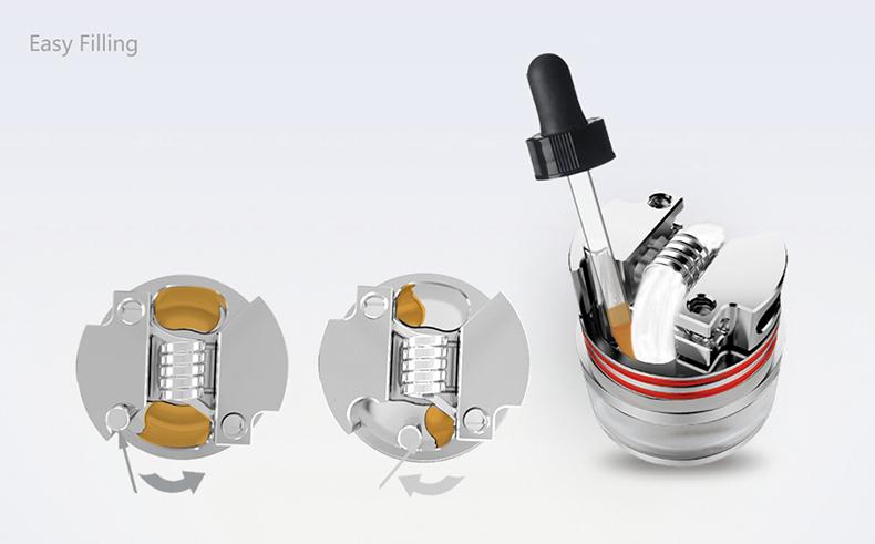 Oumier Wasp Nano RDTA Tank Atomizer Easy Fill