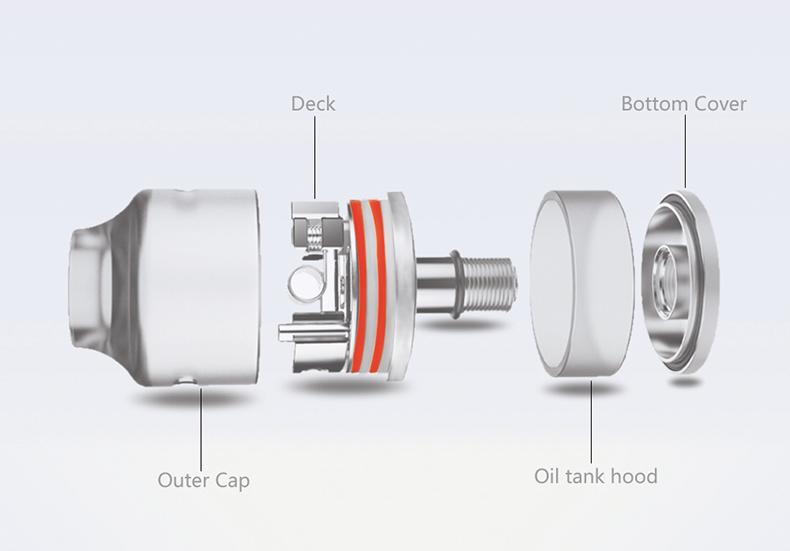 Wasp Nano RDTA Atomizer Components