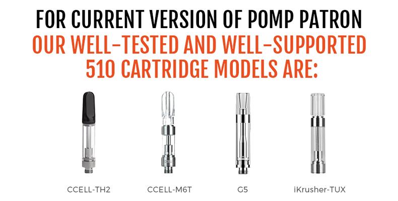 Pomp Patron Kit Compatible Cartridge