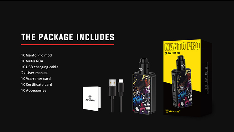 Rincoe Manto Pro Kit Package