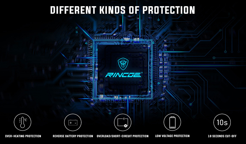 Rincoe Mechman 80W Kit Protections