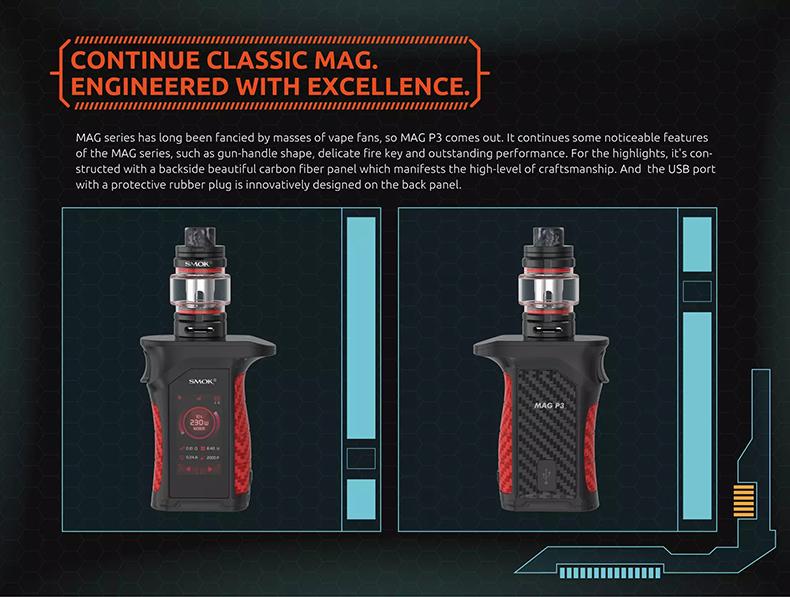 SMOK Mag P3 Kit Introduction