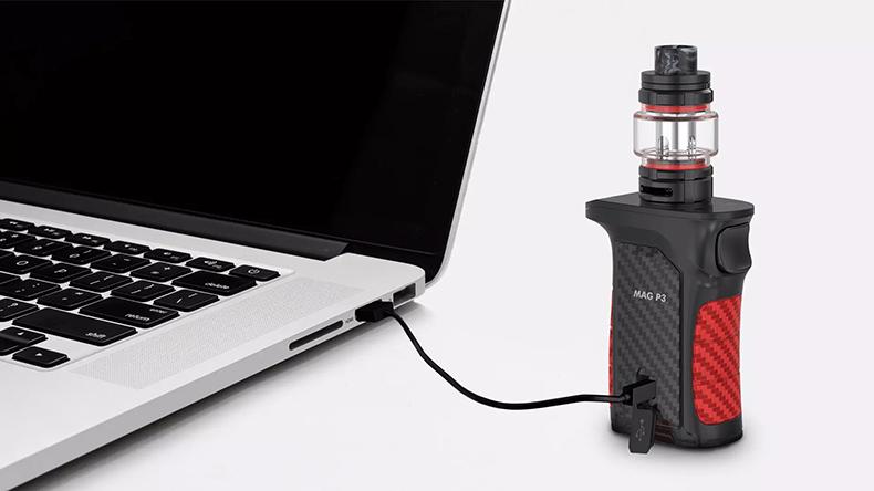 SMOK Mag P3 Kit USB Charging