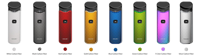 SMOK Nord Kit Carbon Fiber US Edition Colors