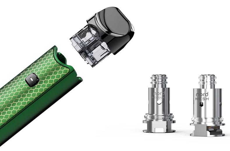 SMOK Nord Pod System Starter Kit Carbon Fiber Nord Coils