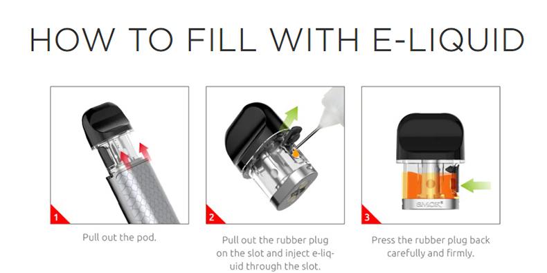SMOK Novo X Mod Kit Side Filling