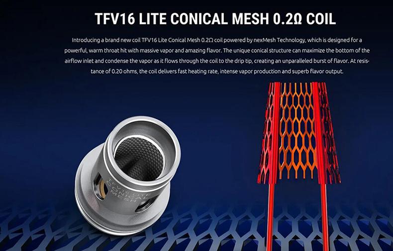 SMOK TFV16 Lite Tank Atomizer Mesh Coil