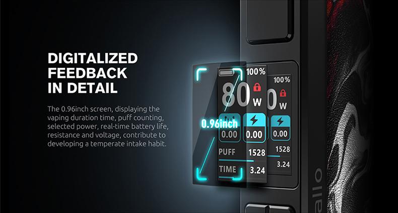SMOK Thallo Pod Kit Screen