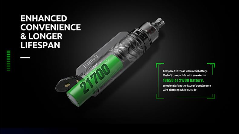 SMOK Thallo S Mod Pod Kit Battery