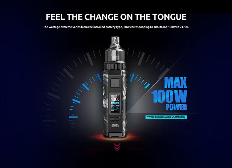 SMOK Thallo S Pod Kit Output Power