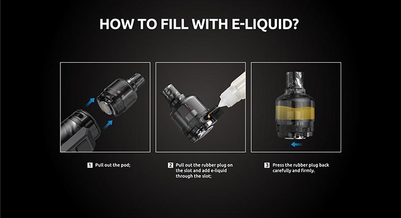 SMOK Thallo S 100W Kit Side Filling