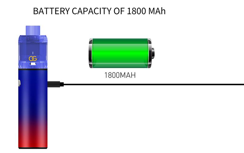 Sikary OG Battery 1800mAh