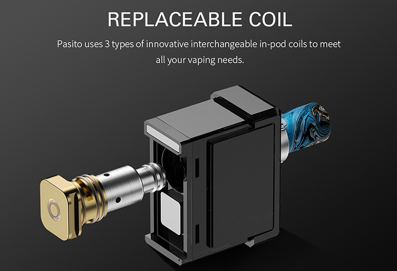 Pasito Pod Starter Kit Replaceable Coil
