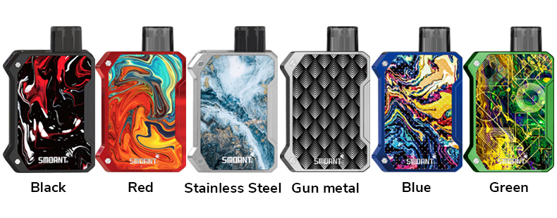 Battlestar Baby Vape Pod System Kit Full Colors