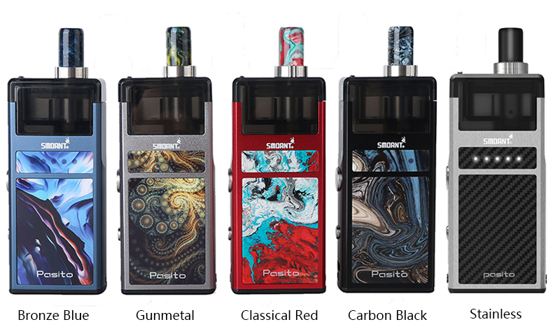 Smoant Pasito Pod Kit All Colors