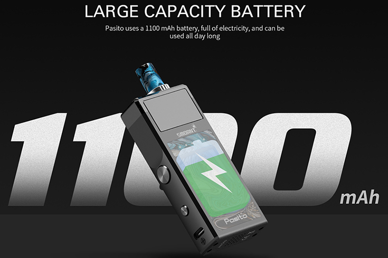 Smoant Pasito Pod Kit Battery