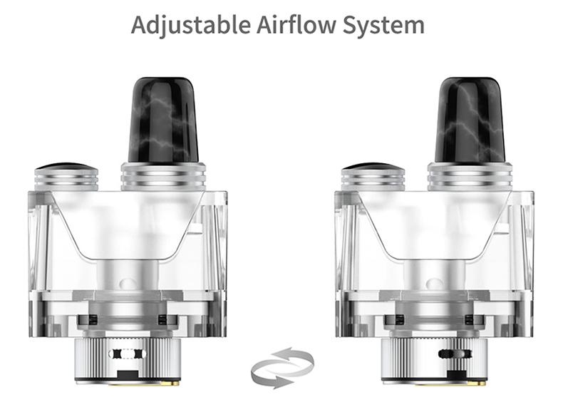 Tauren-X-Pod Mesh Coil Kit Airflow
