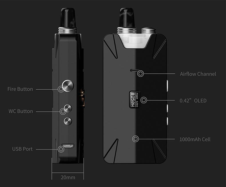 Tauren X Pod Mesh Coil Kit Component