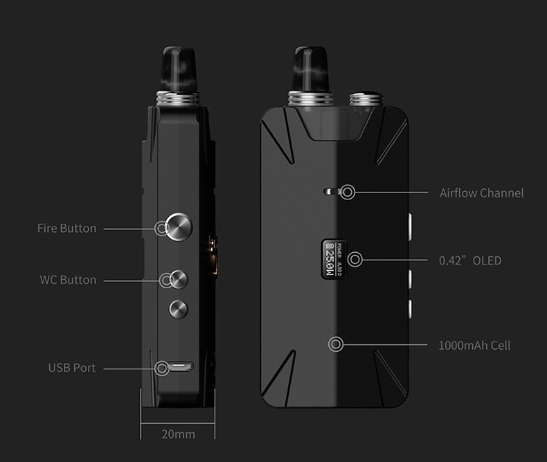 Tauren X Pod System RBA Kit Component
