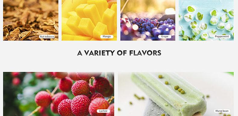 Tesla P20 Pod System Starter Kit Flavors