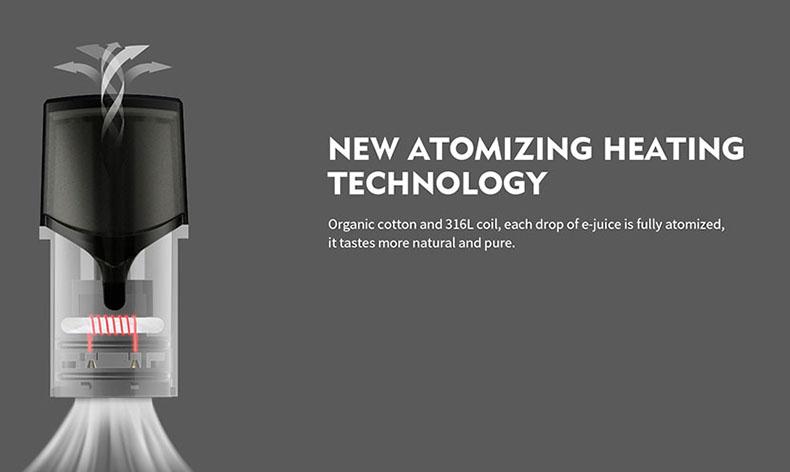 P20 Kit New Atomizing Heating Technology