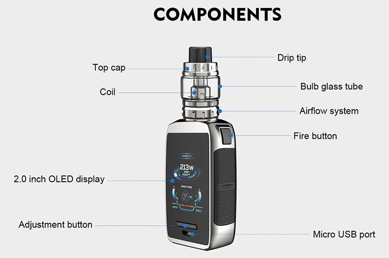 Tesla Shinyo TC Kit Components