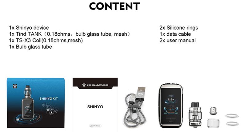 Tesla Shinyo Kit Package