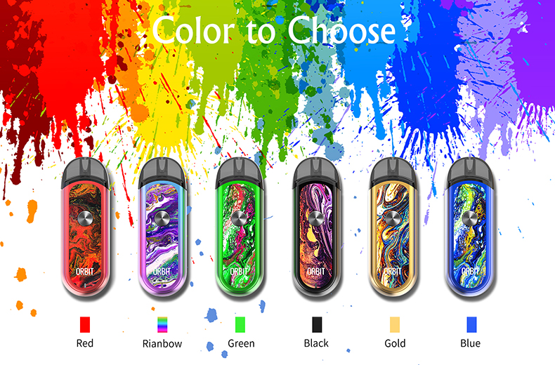 ThinkVape Orbit Pod Kit Colors