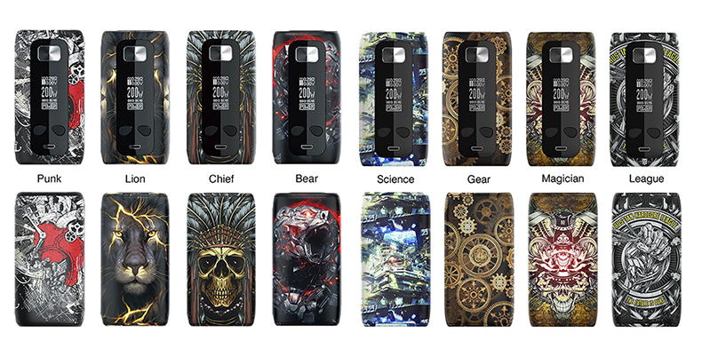Think Vape Thor 200W Mod Half Colors