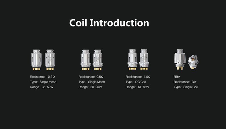 Think Vape Thor AIO Mod Pod Kit Coil