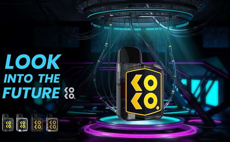 Uwell Caliburn KOKO Prime Vision Kit feature