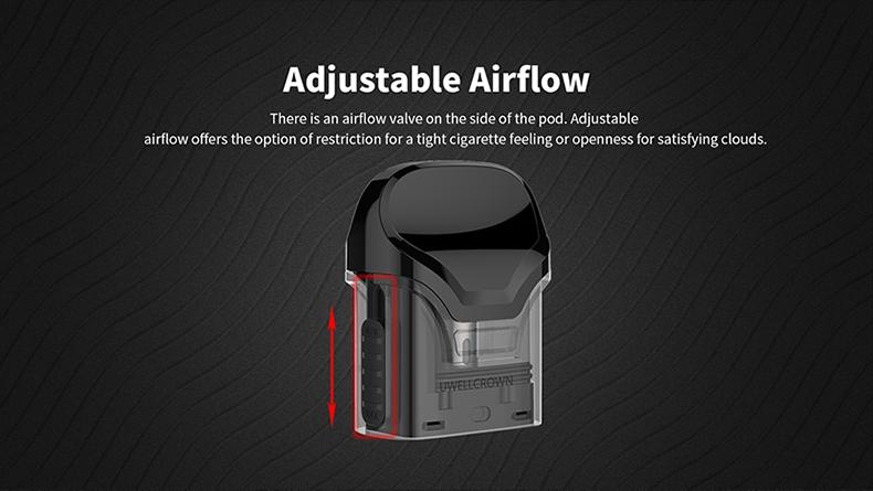 Uwell Crown Pod Vape Kit Adjustable Airflow