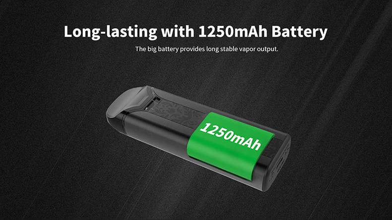 Crown Pod System Kit Battery