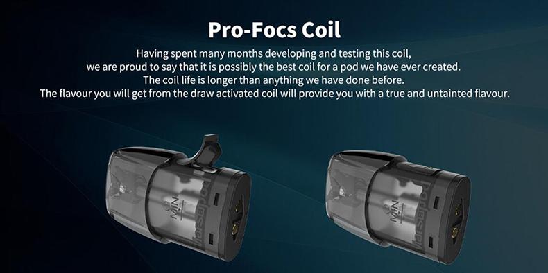 Uwell MarsuPod PCC Starter Kit Pro-focs Coil