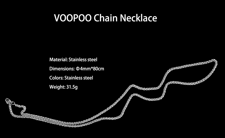 VOOPOO Chain Necklace Parameters